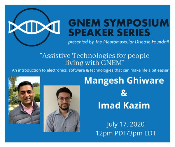 GNEM Symposium Speaker Series: Imad Kazim & Mangesh Ghiware