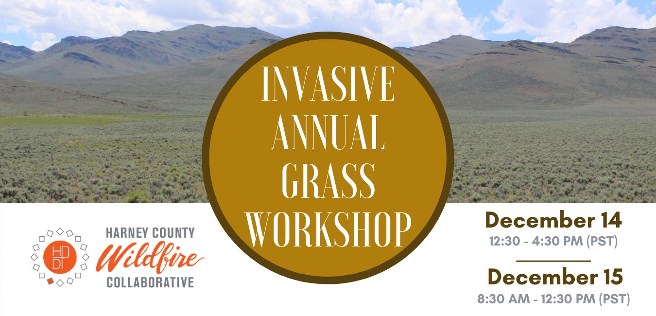 Invasive Annual Grass Workshop