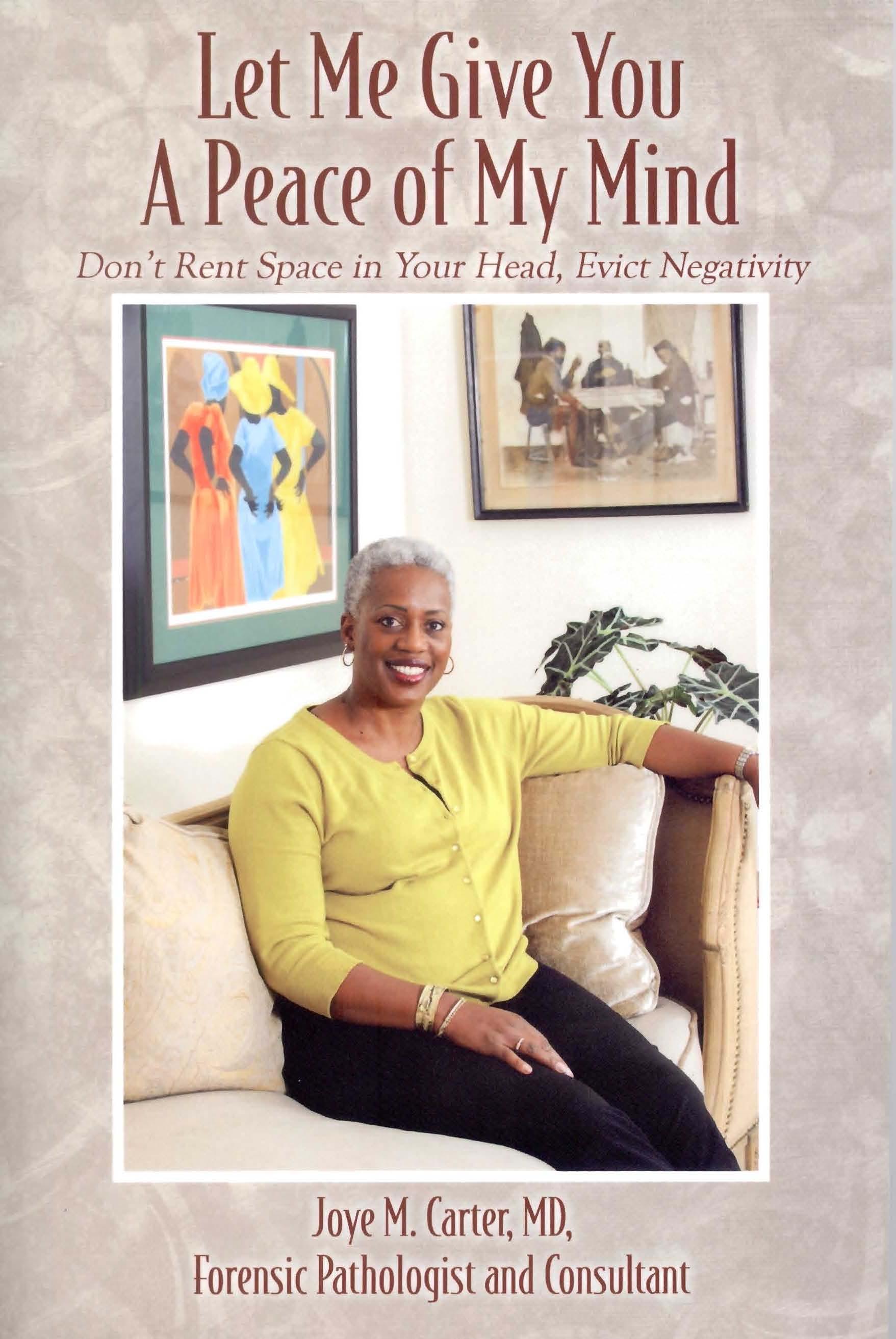 DR. JOYE M. CARTER PUBLISHES INSPIRATIONAL THIRD BOOK