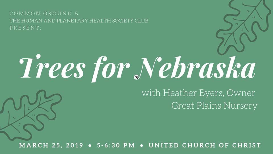 CE: Trees for Nebraska