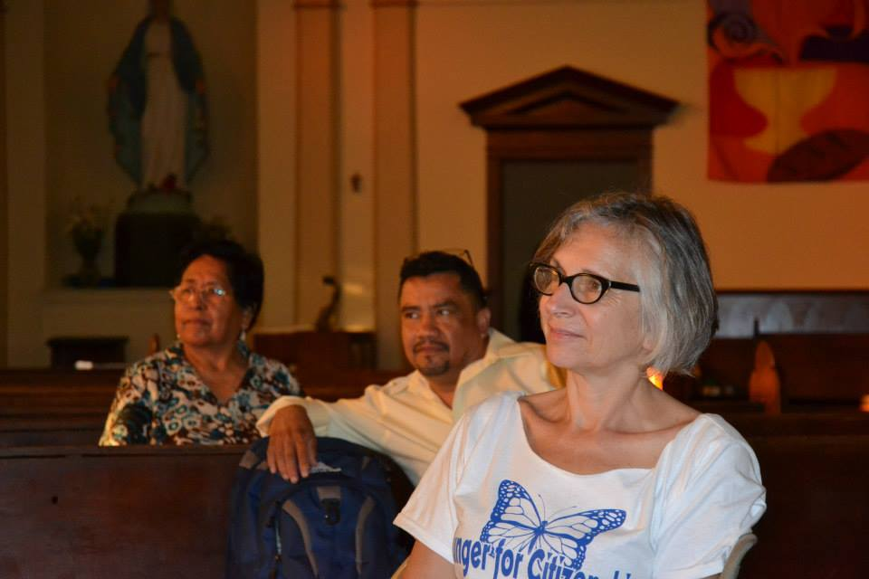 At St. Mary's Church during the fast for Not One More Deportation, July 2013.  (Photo courtesy Casa Latina)