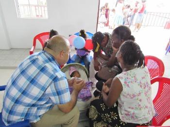 Prayer in Belize