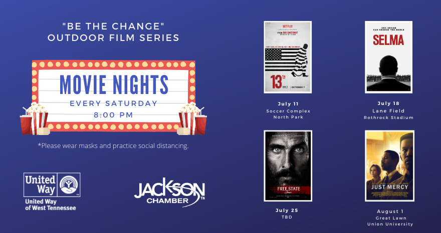 """Be the Change"" Outdoor Film Series on Equity and Justice"