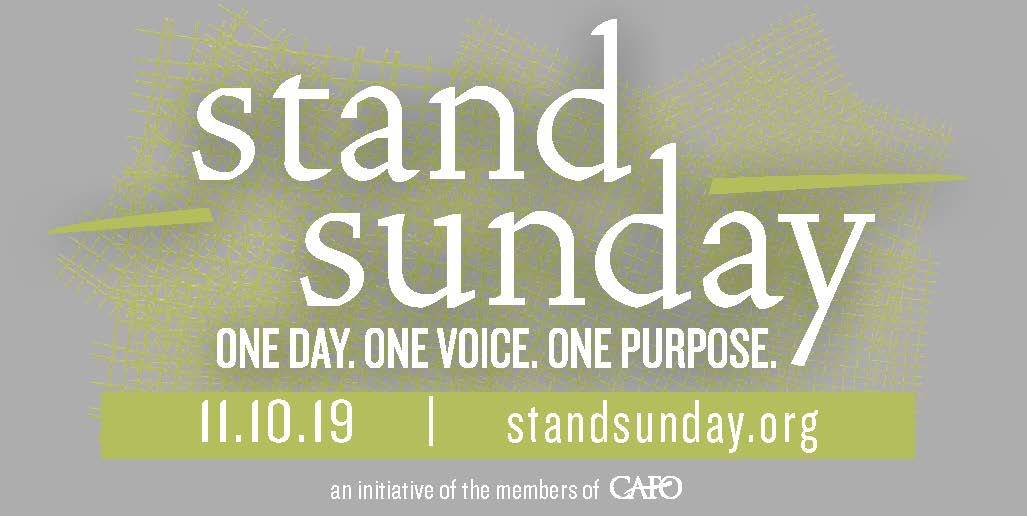 Stand Sunday 2019 - OPEN HOUSE