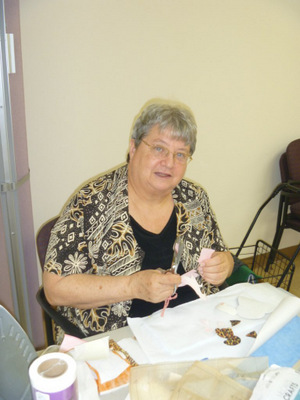Angela Thomas sewed 500 little dresses for Africa