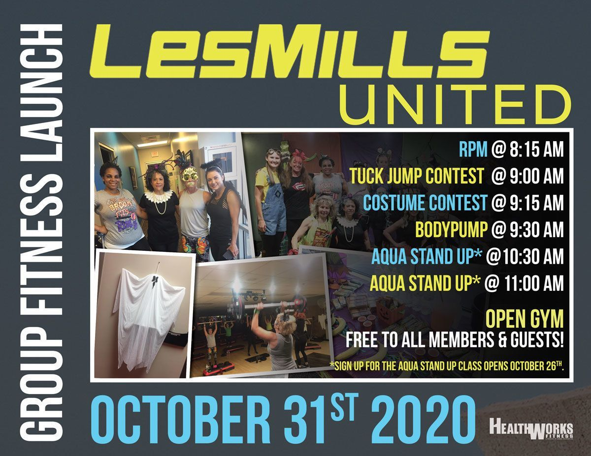 Group Fitness Launch & Open Gym