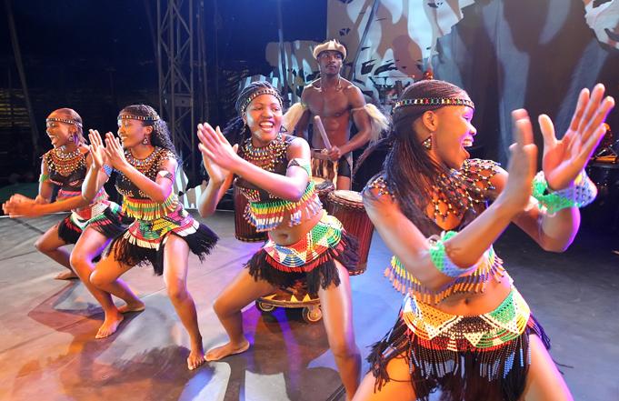 African Acrobatics, Dance and Music: Cirque Zuma Zuma!