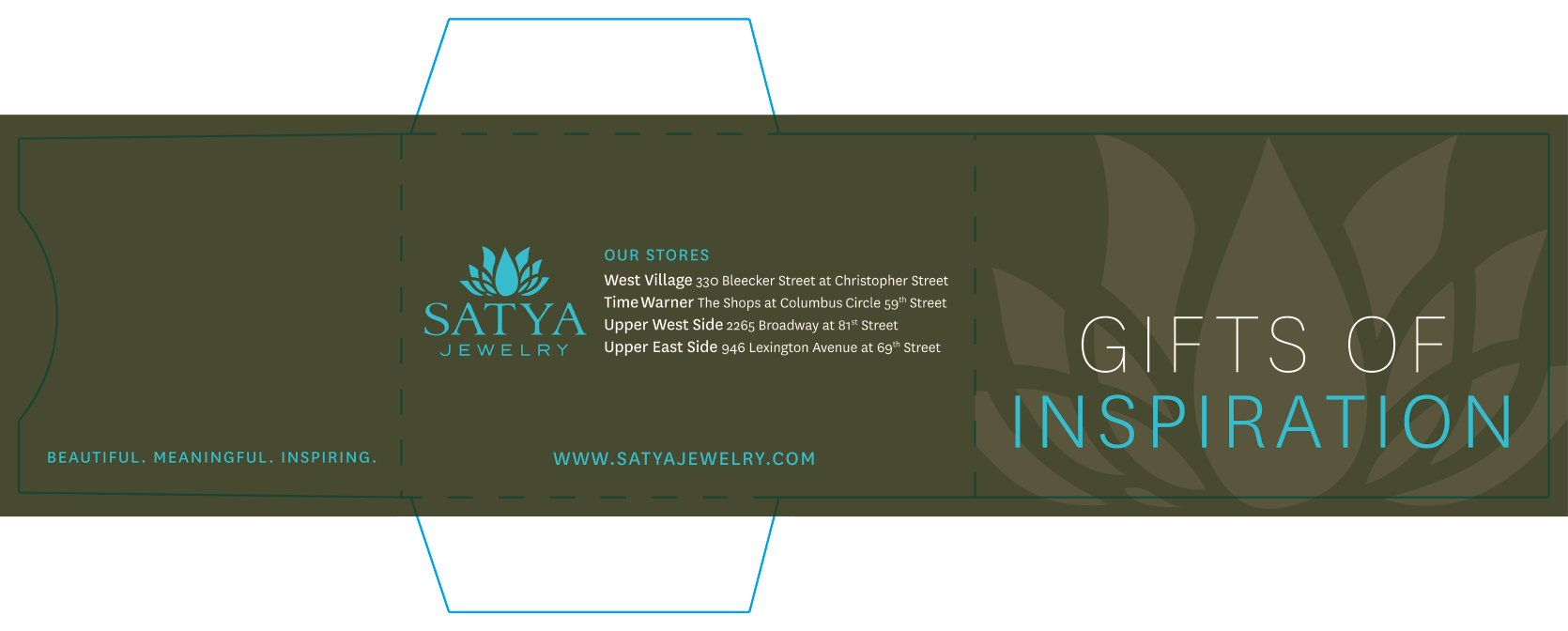 Satya Jewelry Gift Card Carrier