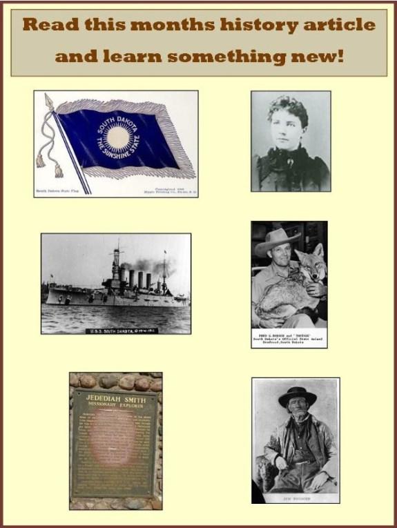 South Dakota History Article