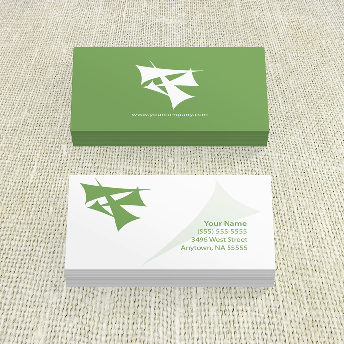 Business Card: 2 sided, 1 color