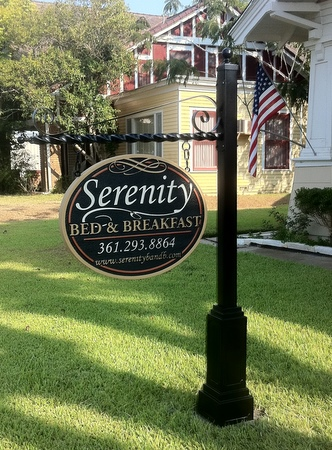 Art Signworks Wrought Iron Scroll Brackets Amp Posts For Signs