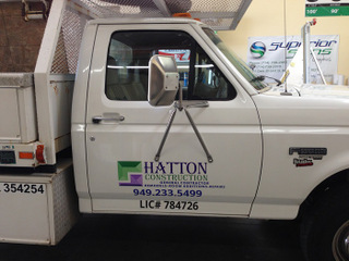 Commercial Truck Lettering Orange County