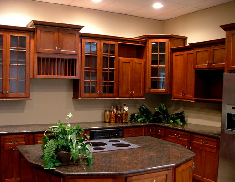 cherry shaker kitchen cabinets. Gallery Image Cherry Double Shaker