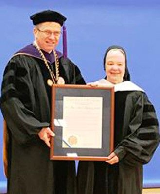 Sister Mary Johnice Rzadkiewicz Receives Honorary Doctorate from Canisius College