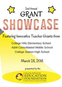 2018 Grant Showcase Program