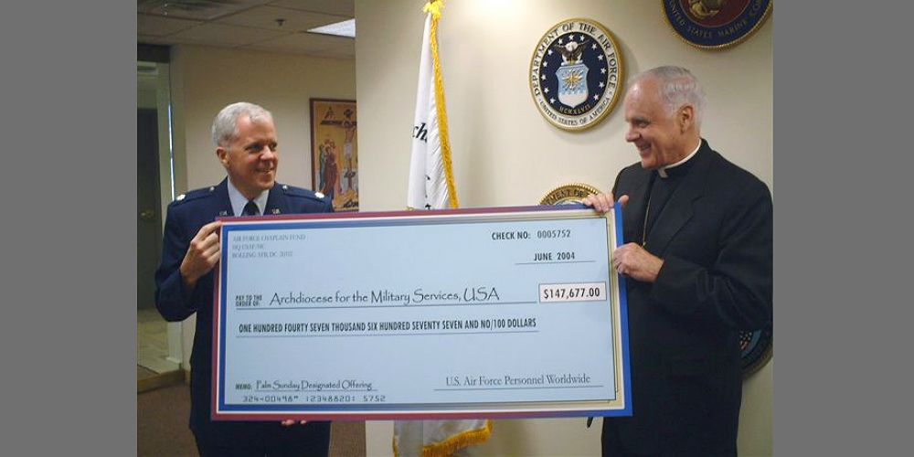 Giant Donation Check