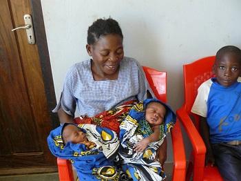 Twins born, Tanzania