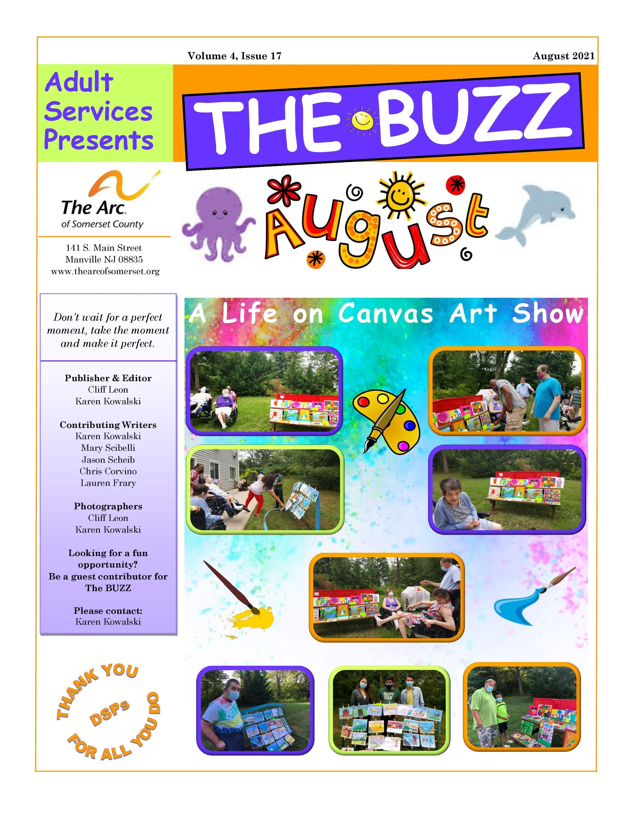 Check Out This Week's BUZZ  Newsletter - August 20, 2021