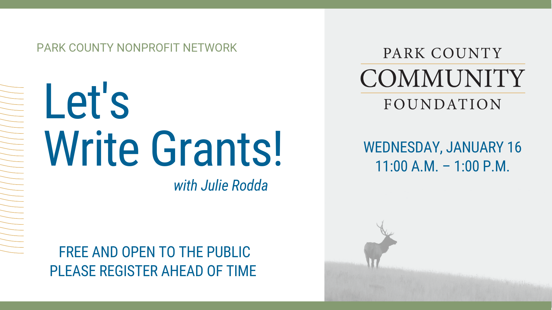 Nonprofit Network: Grant Writing