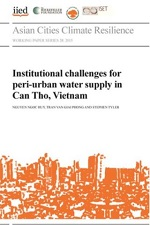 Institutional challenges for peri-urban water supply in Can Tho, Vietnam