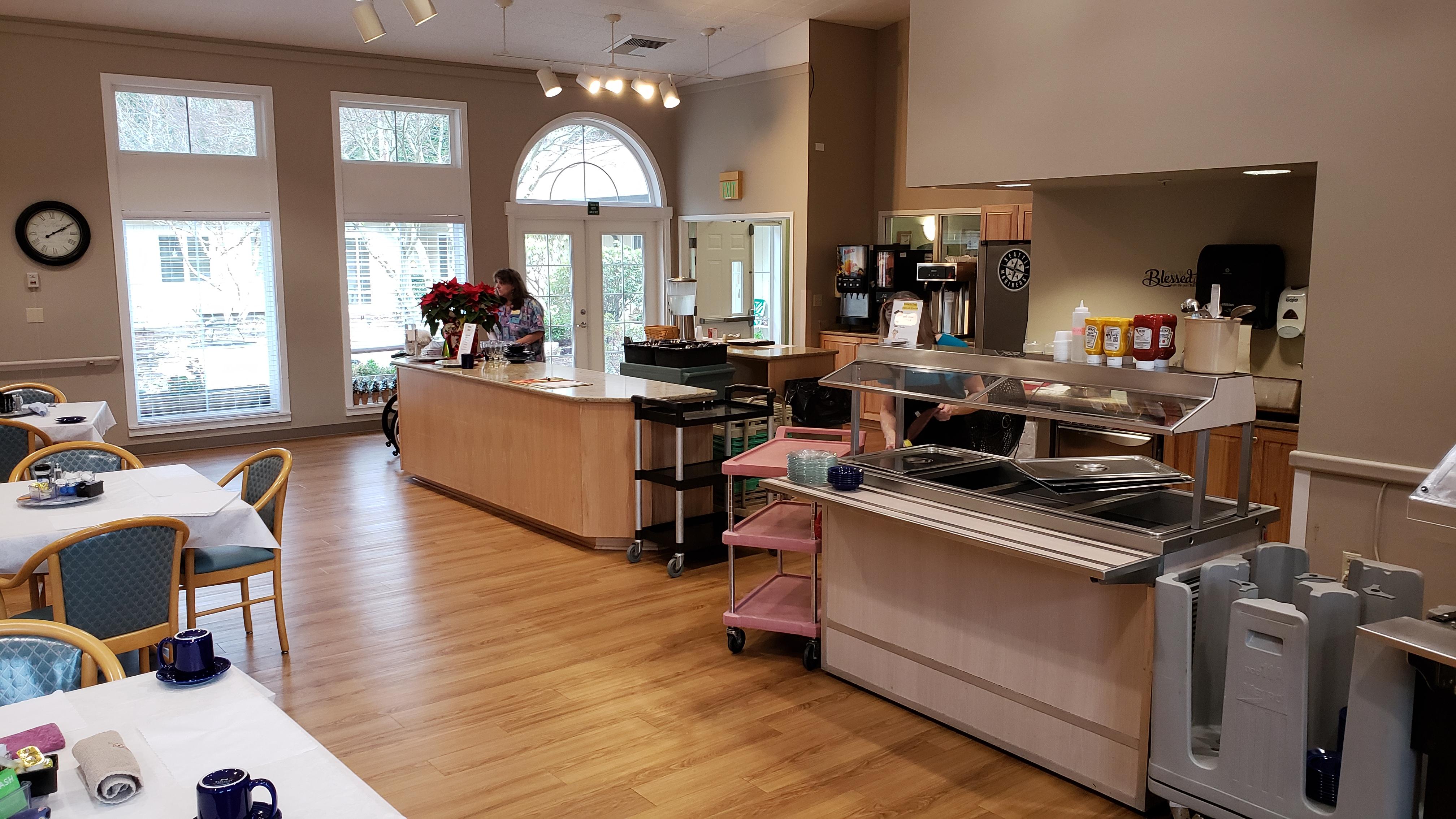 Cedar court dining room
