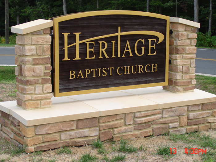 Heritage Entrance Sign