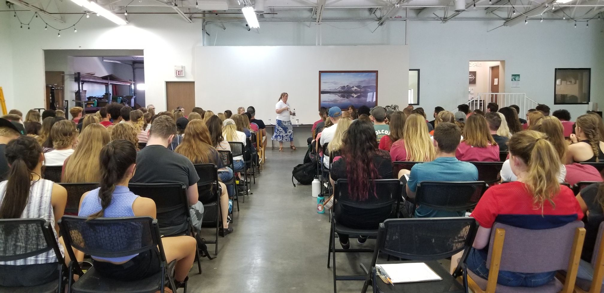 DSU students attend presentation in polygamist community