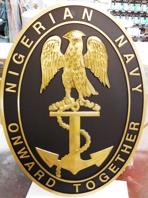 ME5130 -  Insignia of Nigerian Navy, 3-D
