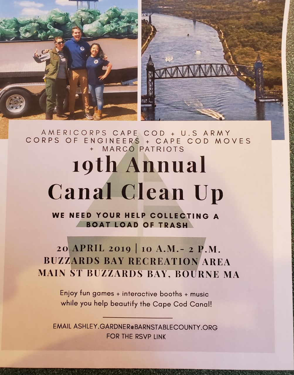 19th Annual Canal Cleanup