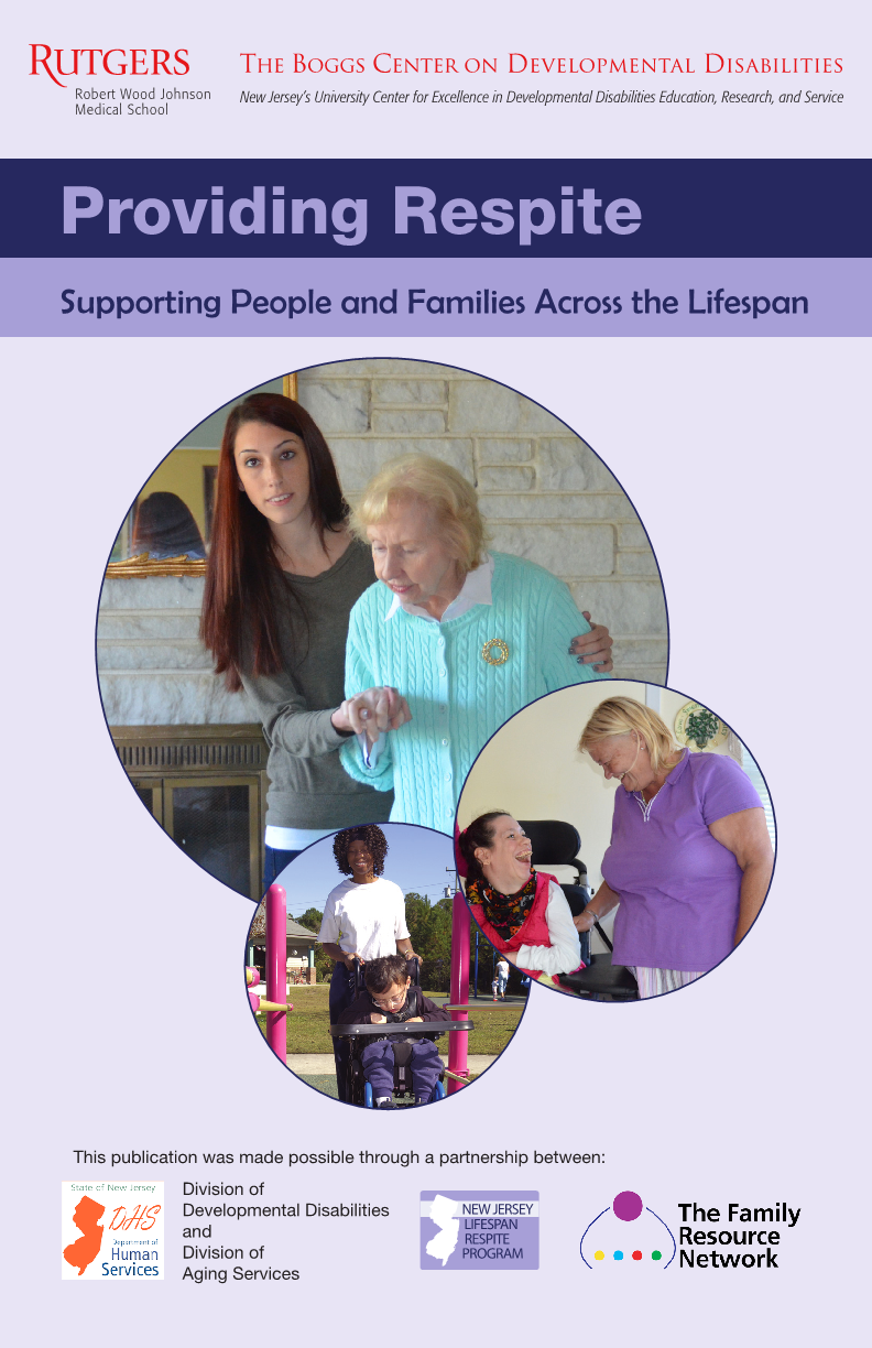 Providing Respite: Supporting People and Families Across the Lifespan