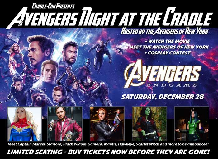 Avengers Night at the Cradle
