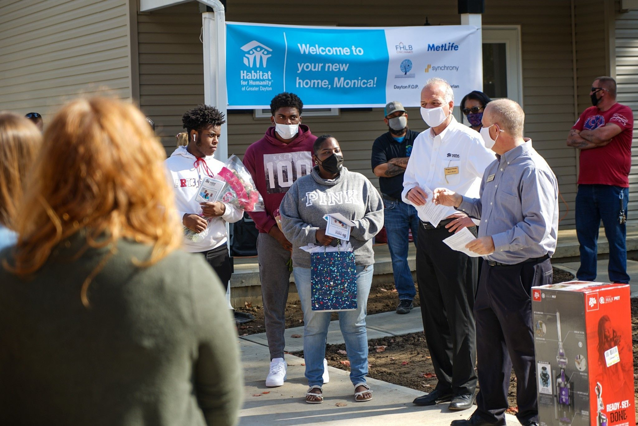A Hard Working Mother and Her Sons Have a New Home Thanks to Dayton Habitat For Humanity