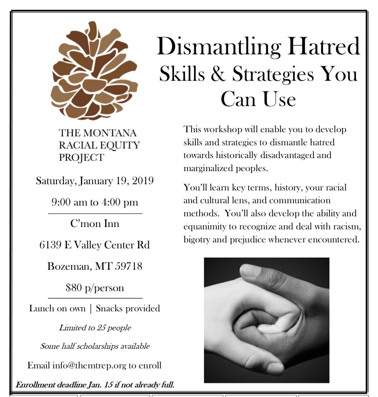 Dismantling Hatred: Skills and Strategies You Can Use