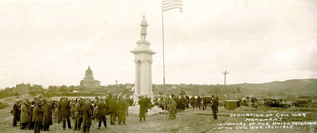 Civil War Monument in Pierre to be rededicated June 1