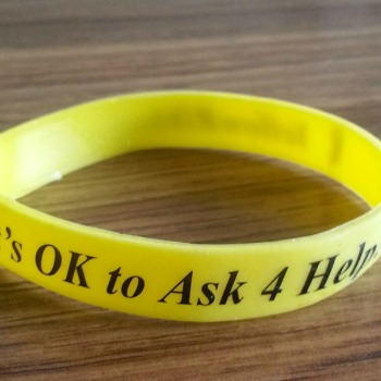 Yellow Ribbon Wristband