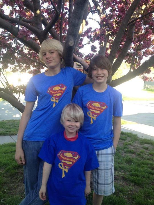 Handsome superheroes! Kody, Tyson and Tiki! Thank you for sharing with us!!