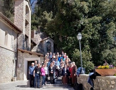 Felician-Sponsored Ministry Leaders Walk in the Footsteps of the Franciscan Movement