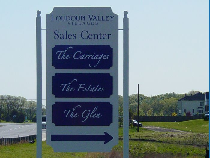 Loudon Valley Site Sign