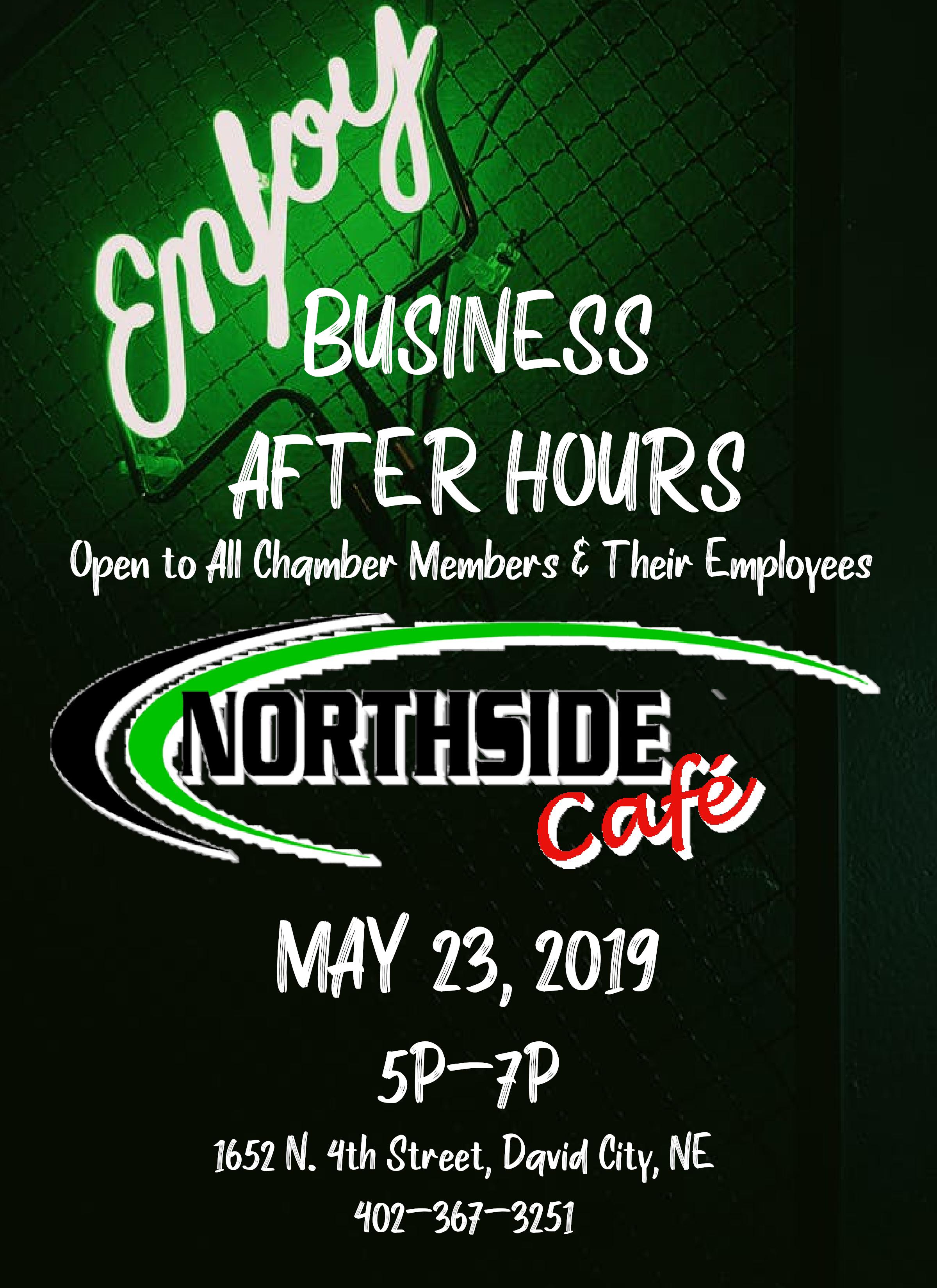Business After Hours- Northside Cafe