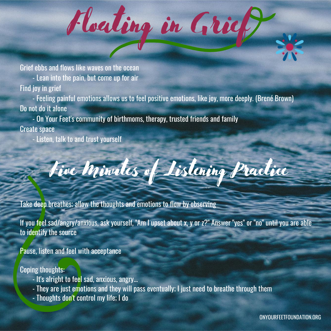 Learning to Float: 4 Techniques for Managing Grief