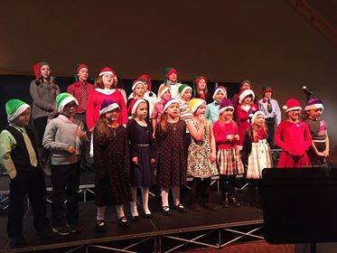 Cookies and Carols with Three Lakes Academy 2016