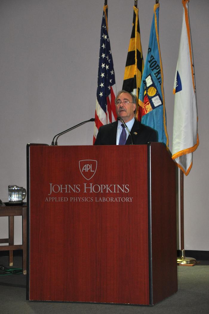 NCMF President Richard Schaeffer, Jr. welcomed the audience.