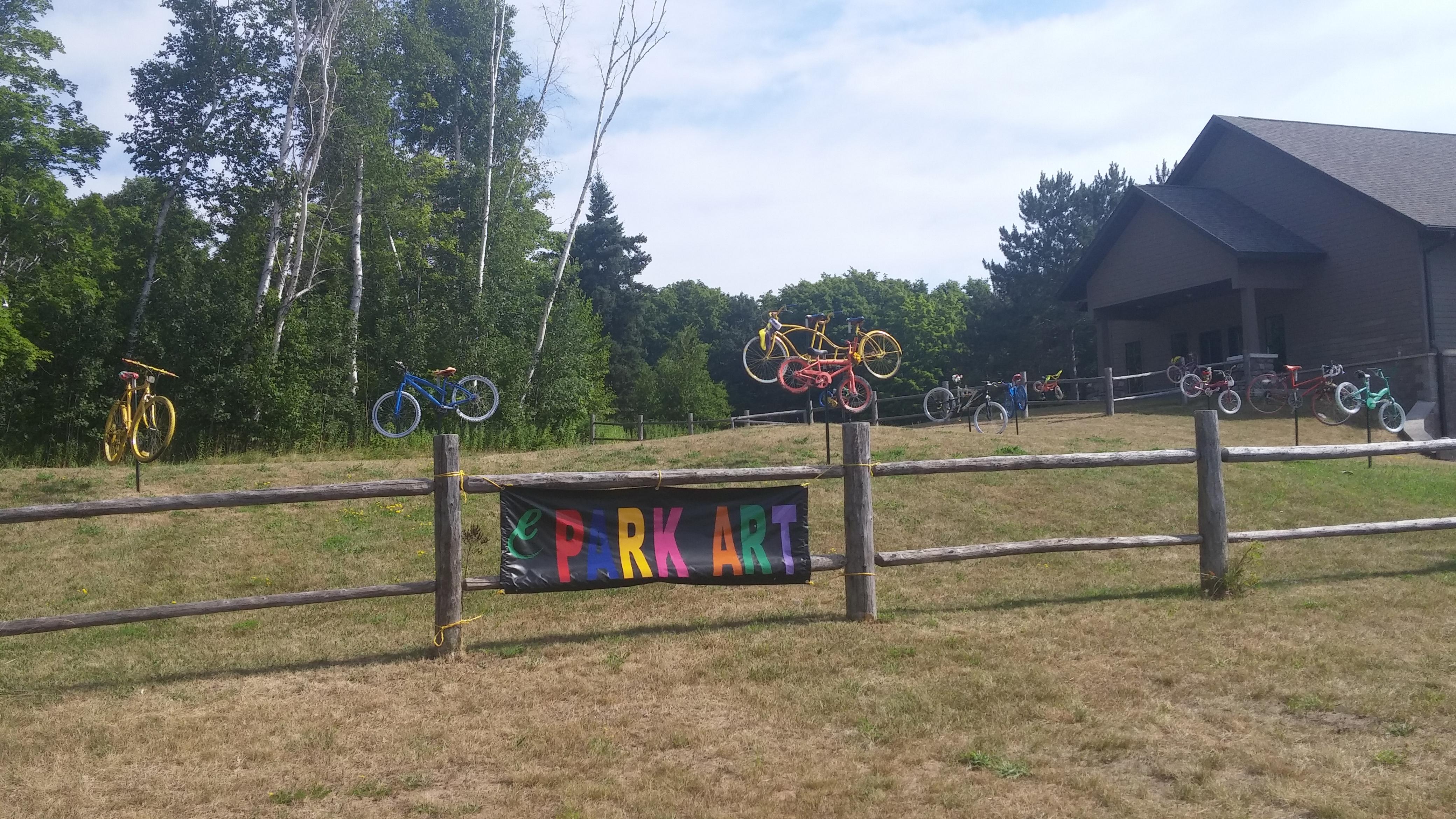 2015 Park Art - Bicycles