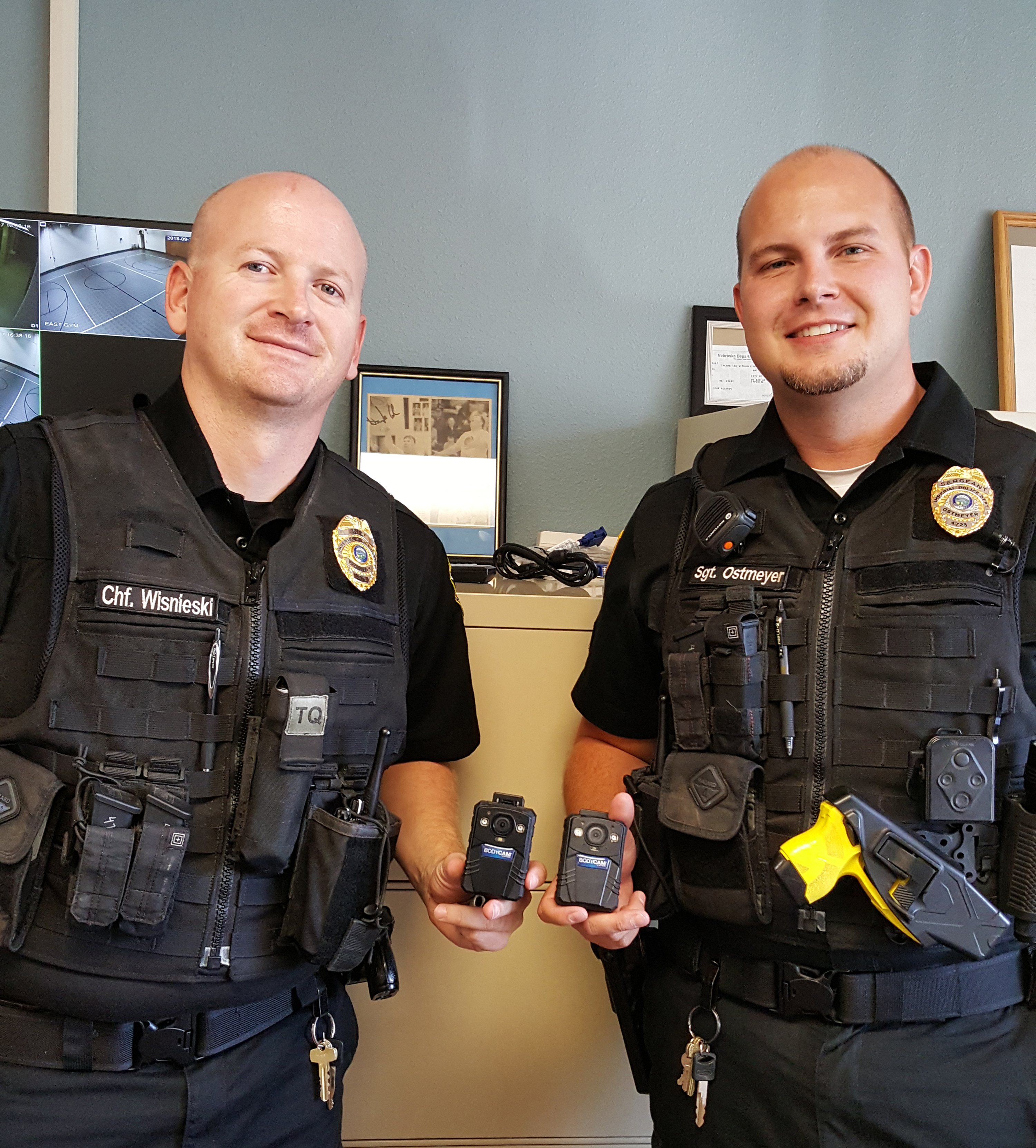 New body cameras used in Imperial