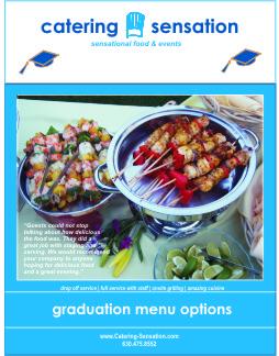 Graduation Menu