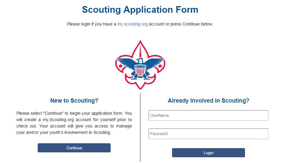 Online Membership Application Goes Live