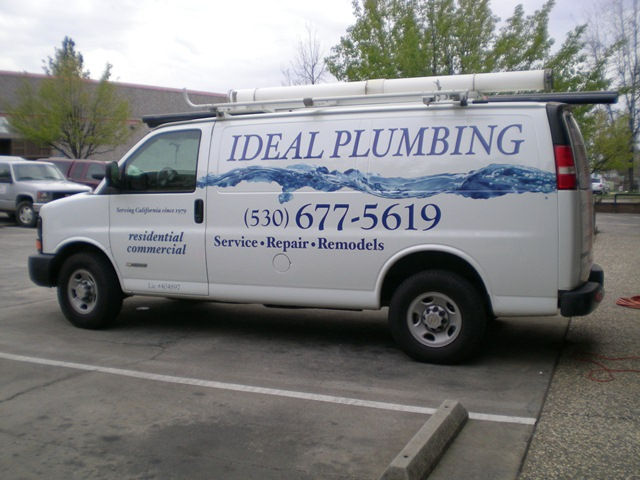 Spot-On Signs & Graphics Vehicle Graphics Ideal Plumbing