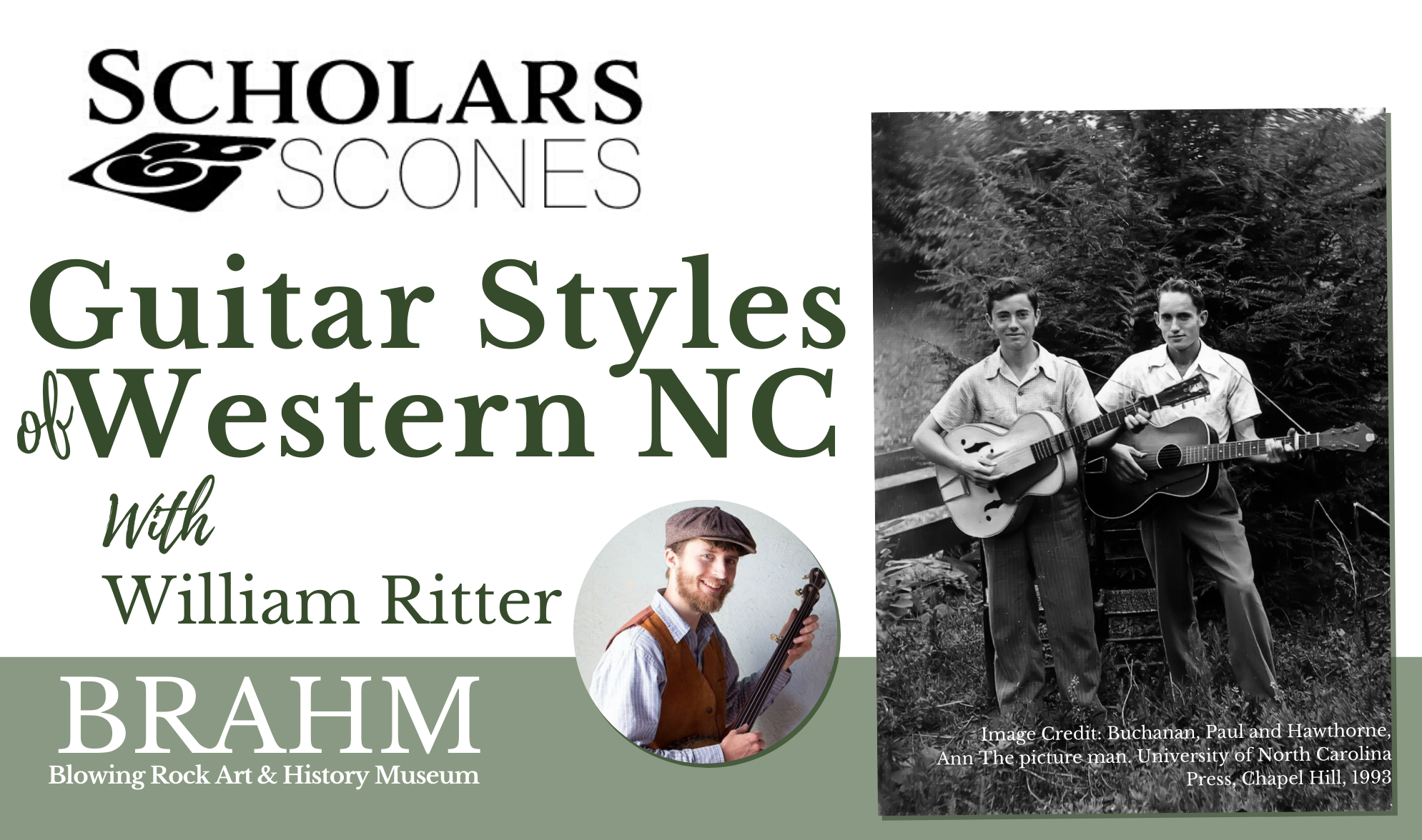 Program Viewing Party: Guitar Styles of Western NC