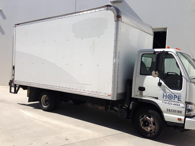 Box truck wraps Buena Park CA