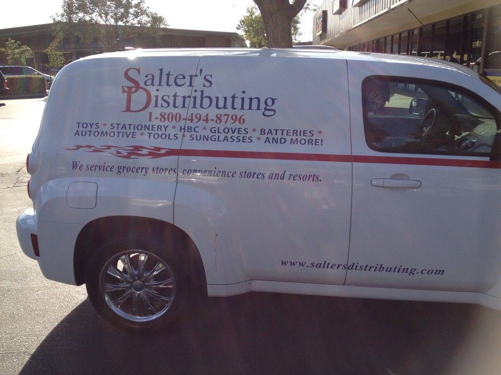 Salter's Distributing Deliver Vehicle